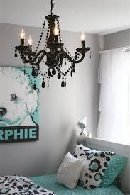 Simple Chandeliers For Bedroom In Black Color HowieZine