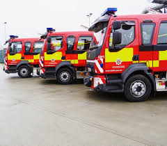100 New Fire Trucks Three New Fire Appliances Have Joined County Durham And Darlington