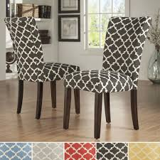 New Patterned Fabric Dining Room Chairs | Top Home Design 2019