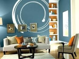 wandgestaltung wohnzimmer blau alexiaclorindainfo 10