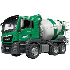 100 Bruder Cement Truck MAN TGS Mixer Educational Toys Planet