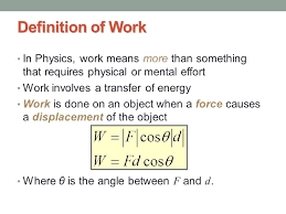 4 Definition Of Work In Physics