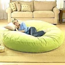 Giant Fluffy Bean Bag Bed Chair Lounger