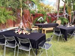 outside halloween party ideas scary diy halloween decorations