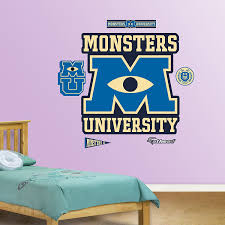 Fathead Princess Wall Decor by Monsters Inc Decor Archives Groovy Kids Gear