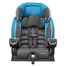 Evenflo High Chair Table Combo by Evenflo Maestro Harnessed Booster Car Seat Thunder Babies