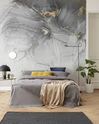 ink gold fluid fototapete schlafzimmer wohnzimmer ideen