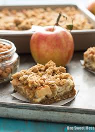 Pumpkin Snickerdoodle Cheesecake Bars by Caramel Apple Cheesecake Bars One Sweet Mess