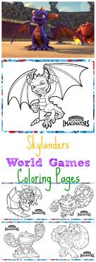 Skylanders World Games Coloring Pages Free Printable Activities For Kids
