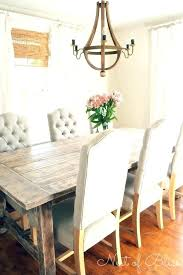 Farm Table Ideas Dining Room Lovable Rustic Best About