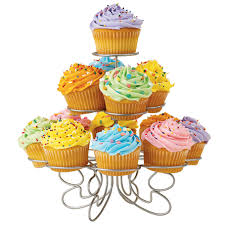 Cupcake tower clipart