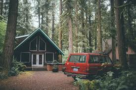 100 House In Forest Red SUV House Forest Red Cars Car HD Wallpaper