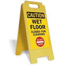 Caution Wet Floor Banana Sign by Caution Wet Floor Signs Mysafetysign Com