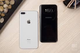 iPhone 8 Plus vs Samsung Galaxy S8