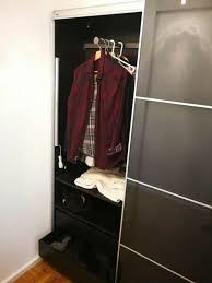 ikea pax zwei kleiderschränke mit schiebetür und diversem