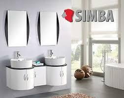 details zu badmöbel badezimmermöbel badezimmer waschbecken waschtisch schrank 138 cm tiger