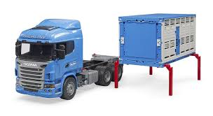 100 Cow Truck 03549 116 Scania RSeries Cattle Transport With Action Toys