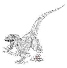 Jurassic World Countdown Velociraptor By BlackHeartSpiral