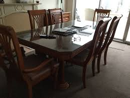 Cherry Wood Dining Table, 6 Chairs, 2 Carver Chairs, Matching Cabinet ... 90 Off Bernhardt Embassy Row Cherry Carved Wood Ding Darby Home Co Beesley 9 Piece Buttmilkcherry Set 12 Seater Cherrywood Table And Chairs Christophe Living Fniture Of America Brennan 5piece Round Brown Natural Design Ideas Solid Room House Craft Expandable Art Deco With Twelve 5 Wayfair Wood Ding Set In Ol10 Rochdale For 19900 Sale Shpock Regular Height 30 Inch High Table Black Kitchen Sets For 6 Aspenhome Cambridge 7pc Counter Leg