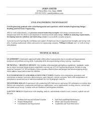 resume sle for civil engineer technician http www