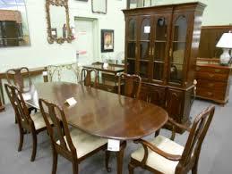 ethan allen dining room chairs 4 ethan allen heirloom nutmeg
