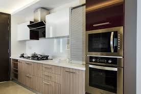 Trending Today Combination Both Acrylic And Laminate Finishes Kitchen Laminates Merino