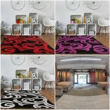 details zu luxus grau lila rot schwarz stil design leben tv room schlafzimmer heim teppich