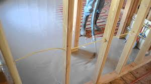 Pex Radiant Floor Heating by Gyp Crete Thin Slab Overpour Poured Over Radiant Heat Pex Pipe