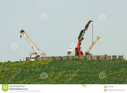 100 Truck Mounted Cranes Mounted Cranes Stock Photo Image Of Mobile Grass 68723588