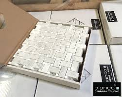 17 best basketweave mosaic tile images on bathroom