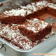 low carb brownies mit kokos schokoglasur einfaches rezept
