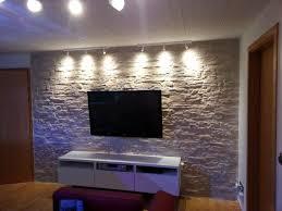 tapeten stein tapete wohnzimmer