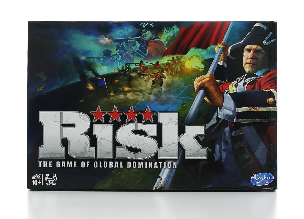 Hasbro Risk: The Game of Global Domination