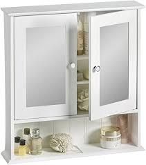 vonhaus spiegelschrank fürs badezimmer im kolonialstil