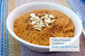 Paleo Pumpkin Custard Microwave by Paleo Pumpkin Oatmeal