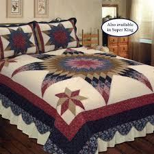 Southwest Decoratives Quilt Shop by Prairie Star Patchwork Quilt Bedding
