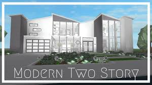 100 Modern Two Storey House Read Desc Roblox Bloxburg Story 89k Giveaway Closed