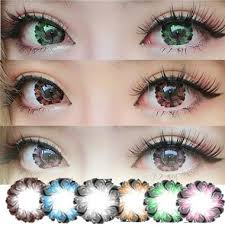 Prescription Contact Lenses Halloween Australia by Putting Colorful Halloween Contact Lens Big Diameter Fruitcolor