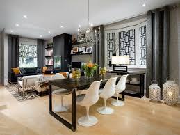 rideaux salle a manger idee deco cuisine salon salle a manger tendance conseils pour la