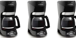 Hamilton Beach 12 Cup Coffee Maker Matching Amazon All Time Low At 17 Prime Shipped