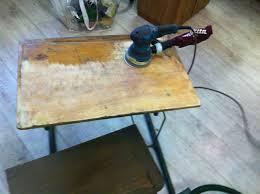 bureau ecolier en bois work in progress restauration d un pupitre d écolier
