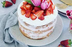 cake mit frischkäse und erdbeeren cookiteasy by