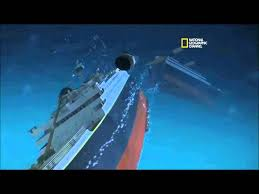 titanic sinking animation youtube