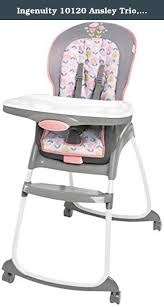 Cosco High Chair Seat Pad by Ingenuity 10120 Ansley Trio Pink The Ingenuity Trio 3 In 1 High