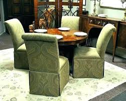 Rolling Dining Room Chairs Caster Dining Chair Dining Room Chairs
