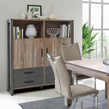 highboard note schrank anrichte buffet esszimmer in picea