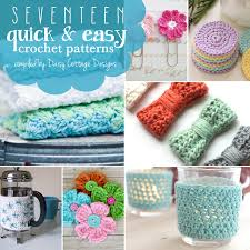 17 Quick and Easy Free Crochet Patterns