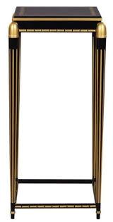 casa padrino luxus wohnzimmer blumentisch schwarz gold 45 x 45 x h 95 cm luxus beistelltisch