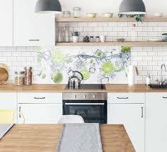 wohnideen spritzschutz aus glas fur deine kuche
