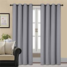 yellow and grey window curtain panels ease bedding with style